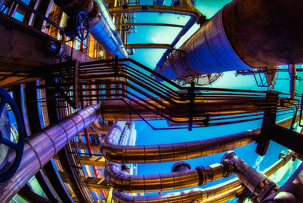 Öl- und Gas-Industrie-volle Kapazität – Foto