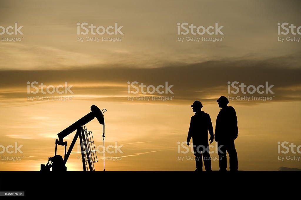 Öl- und Gas-Industrie Personen – Foto