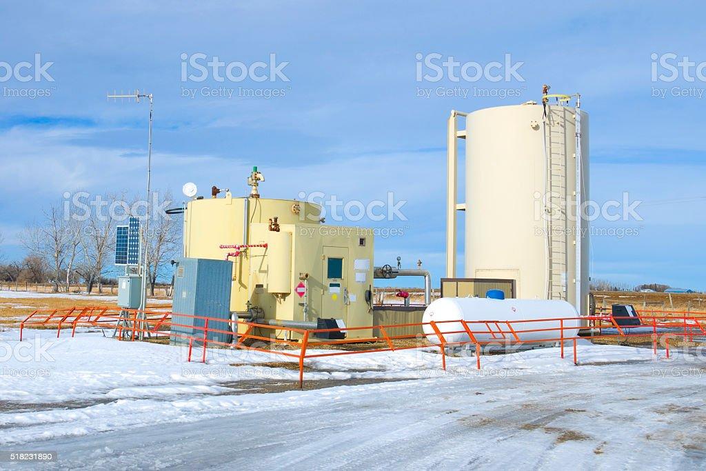 Oil and Gas Industry bildbanksfoto