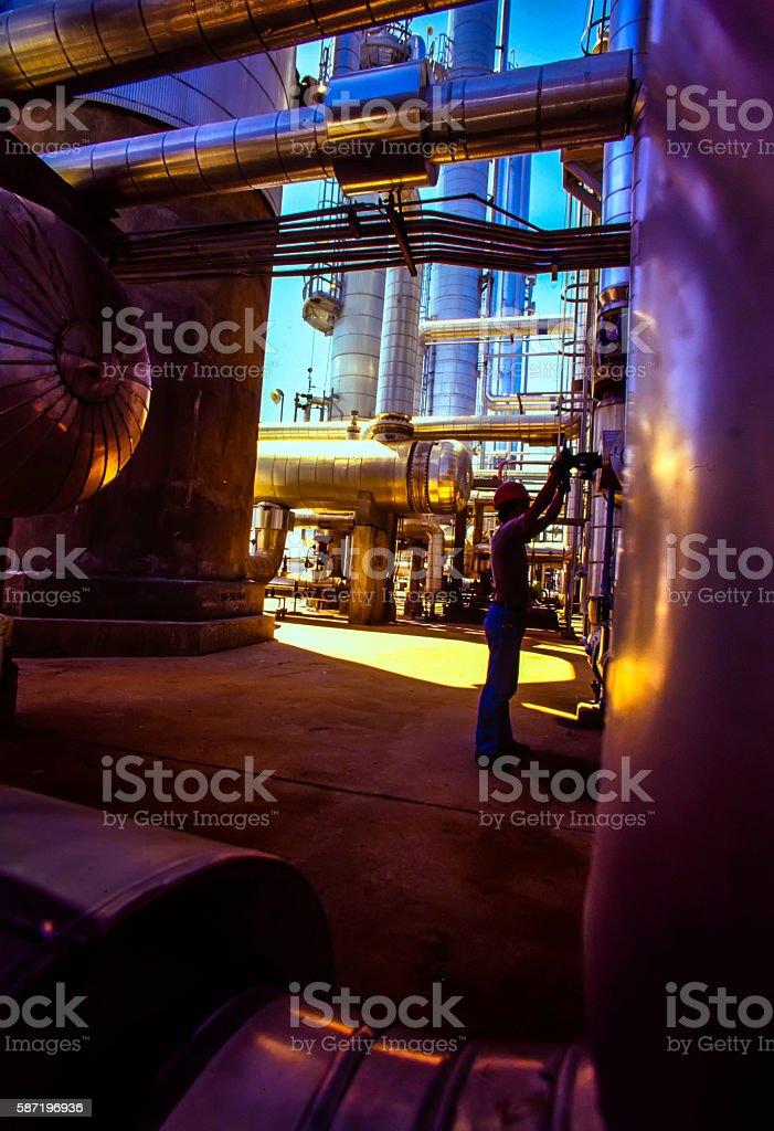 Öl- und Gas-Industrie – Foto