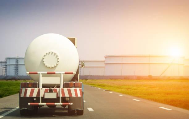 Öl und Gas Transport per LKW – Foto
