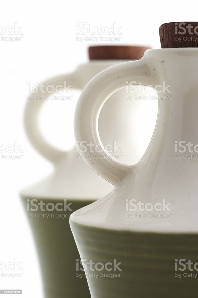 Oil and vinegar, detail royalty-free stock photo