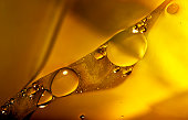 Oil and Water, Abstract Background, Macro