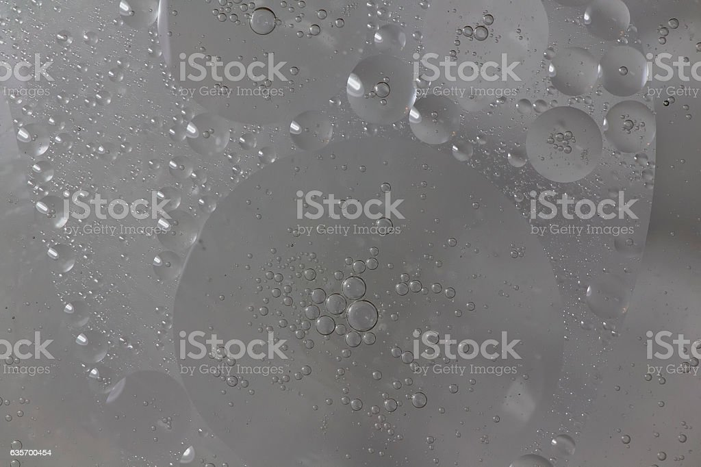 Oil and water beads royalty-free stock photo