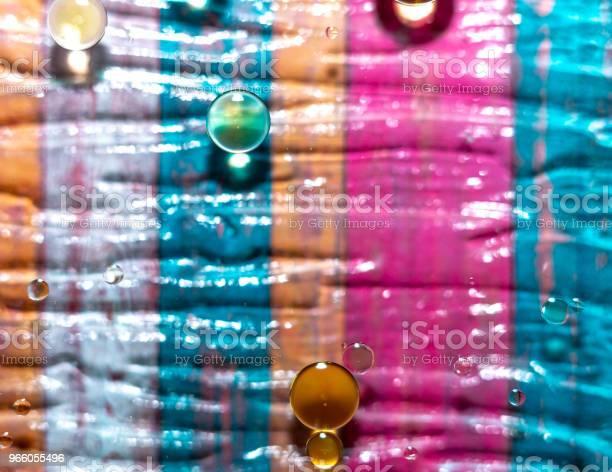 Olja Och Vatten Blandning-foton och fler bilder på Abstrakt