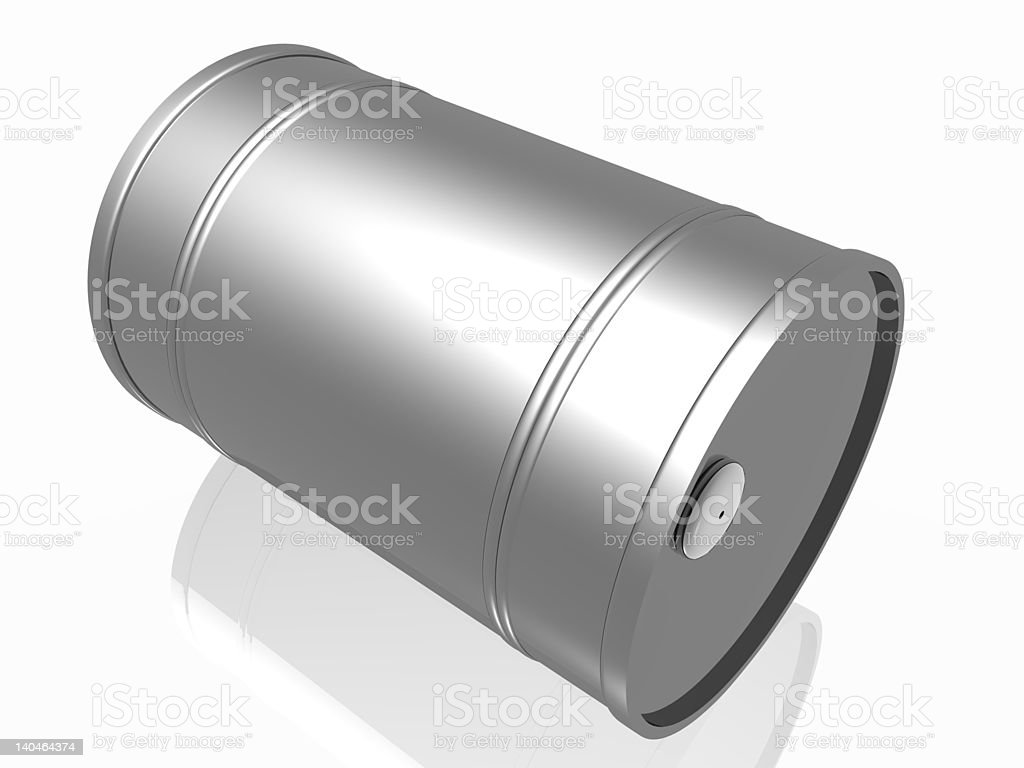 Oil barrels royalty-free stock photo