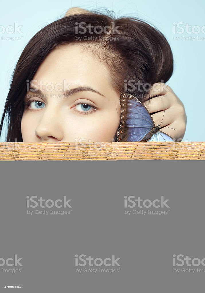 Oil Boom stretching across the water royalty-free stock photo
