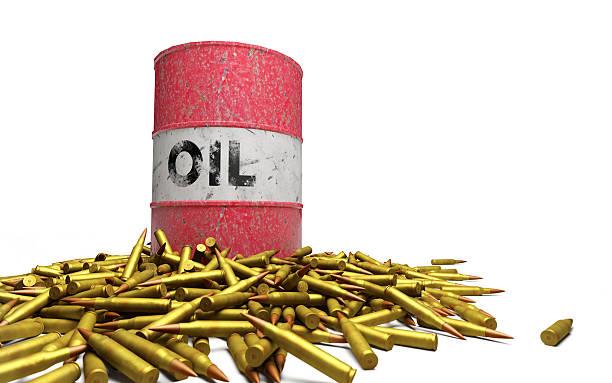 Öl bullets-englische Redewendung – Foto