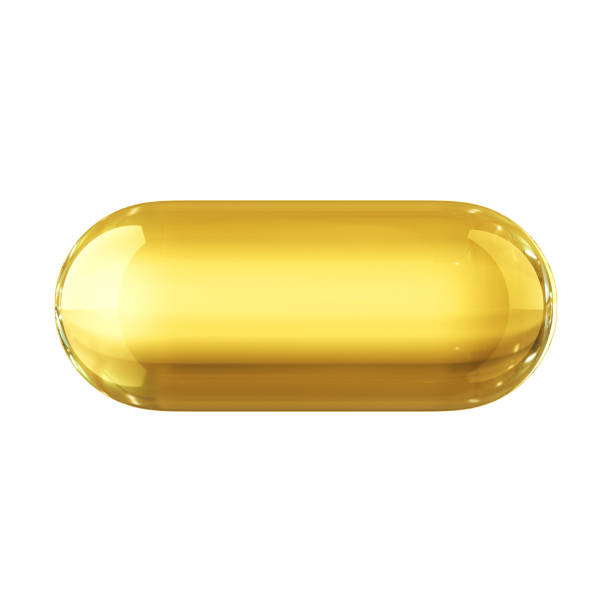 oil capsule - capsule stock photos and pictures
