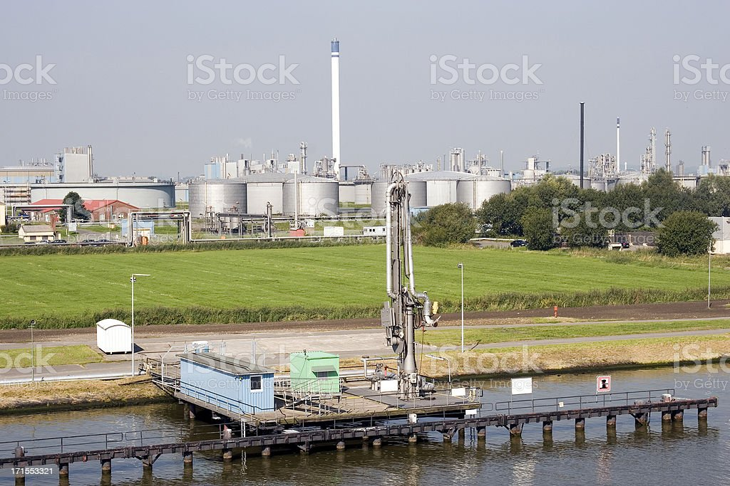 Oil Depot Refinery Kiel Canal Germany Stock Photo More Pictures Of