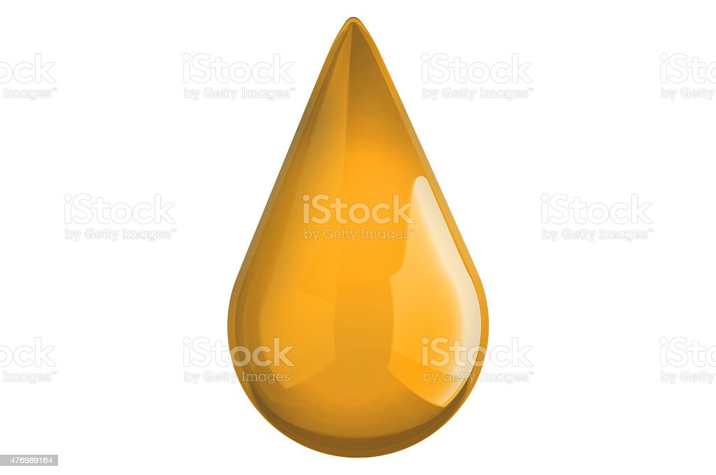 Oil Drop - Fuel - Energy - Cooking oil stock photo