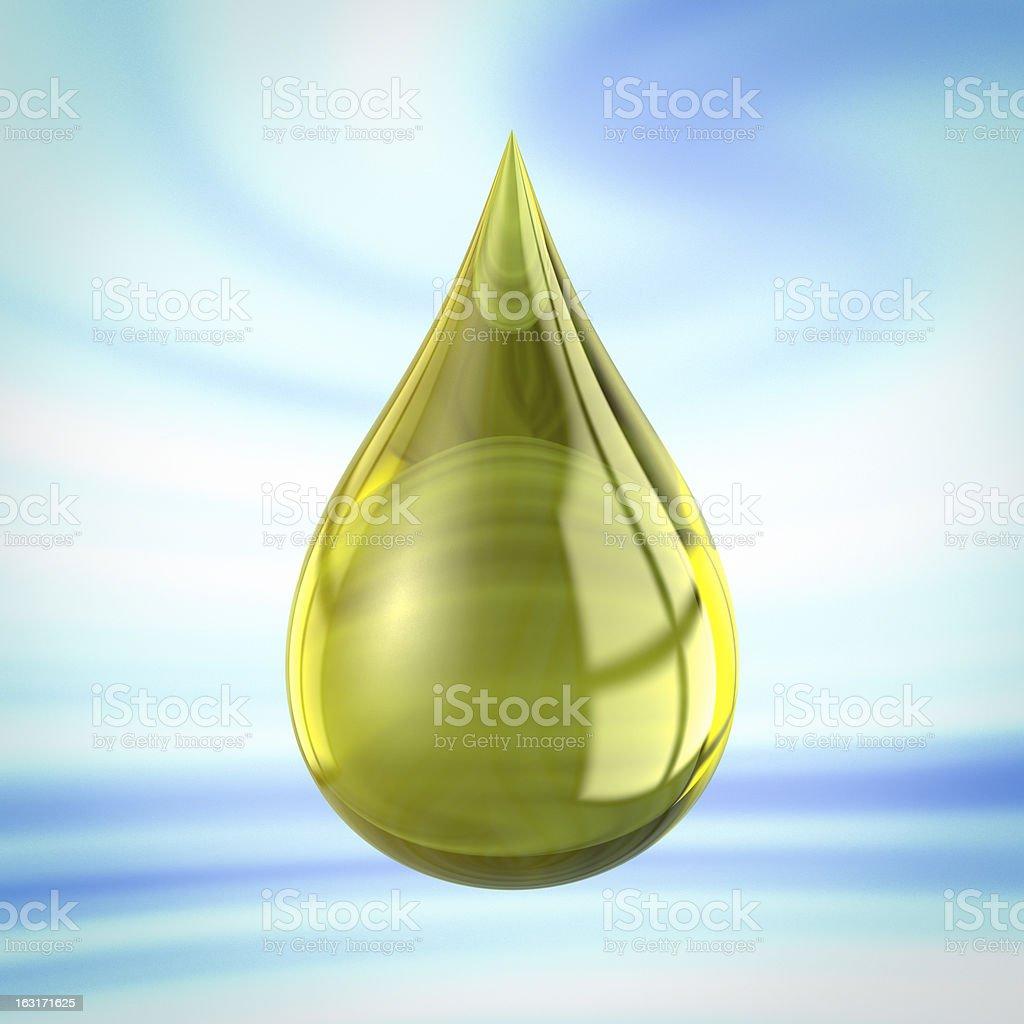 oil drop royalty-free stock photo