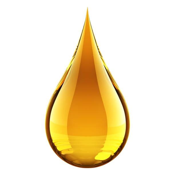 石油ドロップ ストックフォト