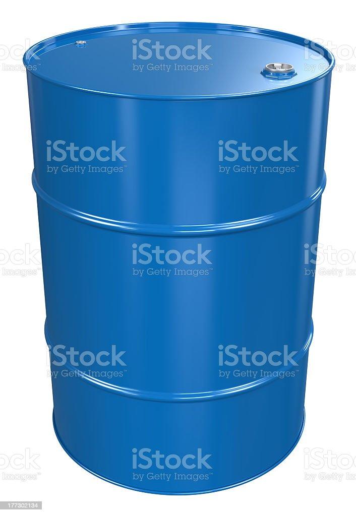 Oil Drum. royalty-free stock photo