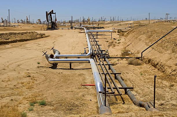 Oil Facility stock photo