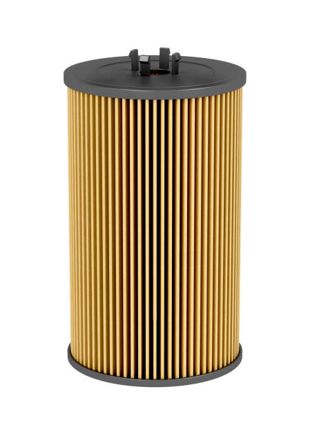Oil filter cartridge Automobile oil filter cartridge, isolated on white background air filter stock pictures, royalty-free photos & images
