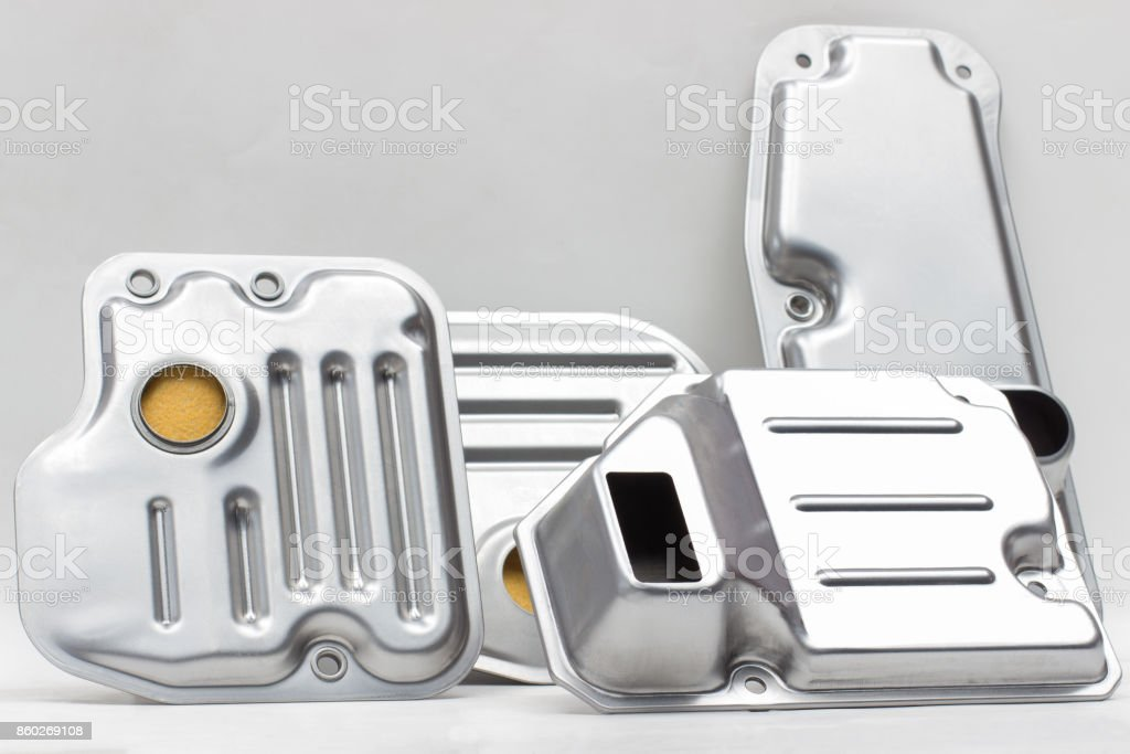 oil filter (strainer) stock photo