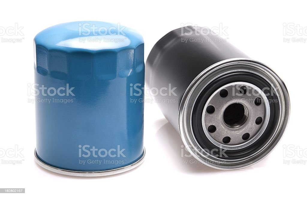 oil filters royalty-free stock photo