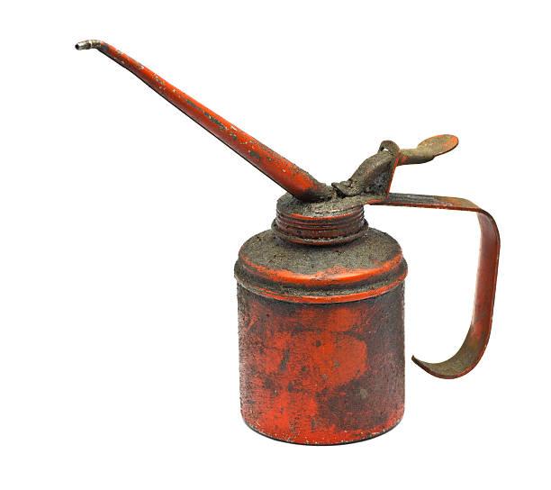 Aceite Bomba de mano - foto de stock