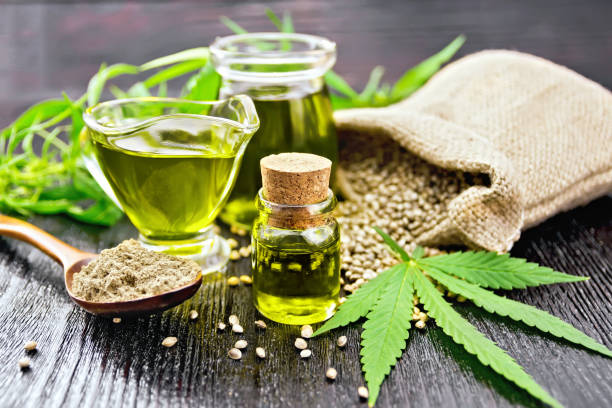 Hemp Oil Stock Photos, Pictures & Royalty-Free Images - iStock