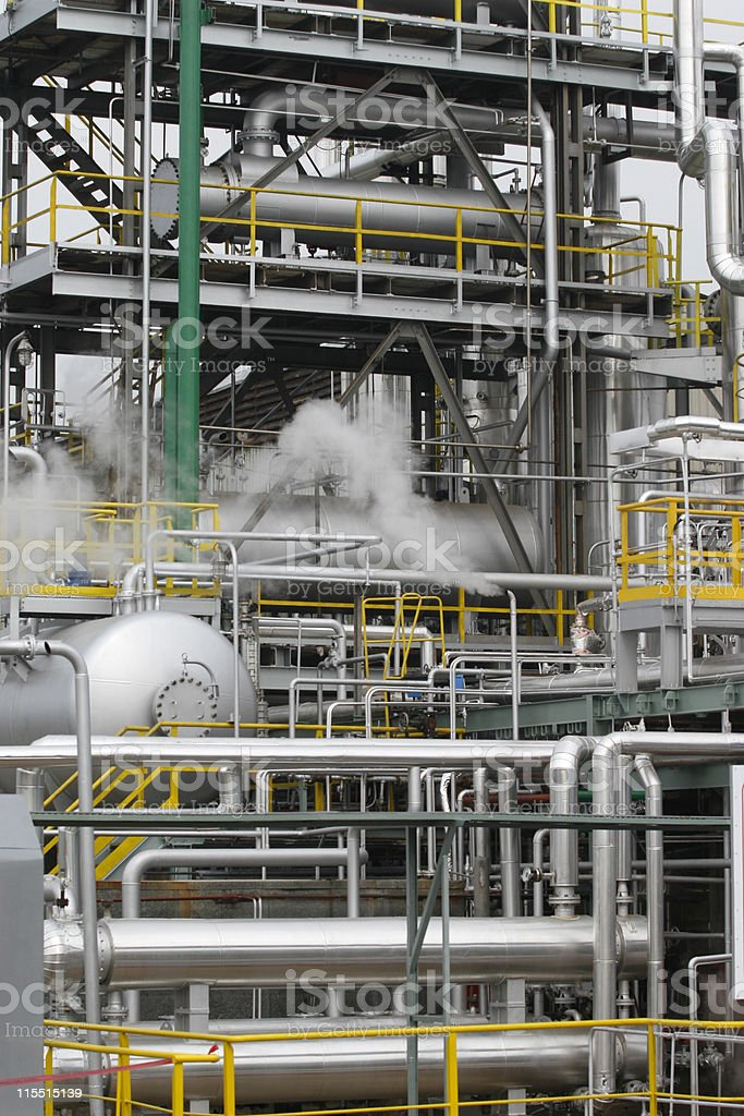 oil industry exterior royalty-free stock photo