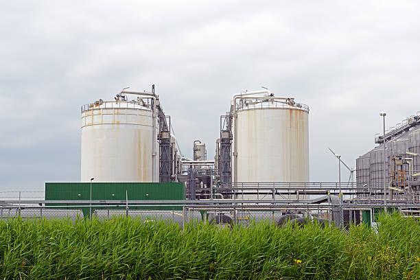 Industria petrolifera - foto stock