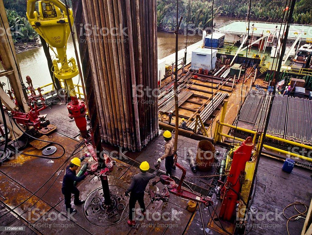 Oil Industry stock photo