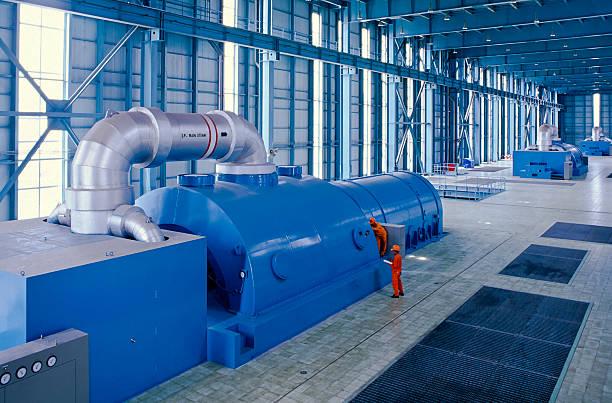 przemysł naftowy - turbina zdjęcia i obrazy z banku zdjęć