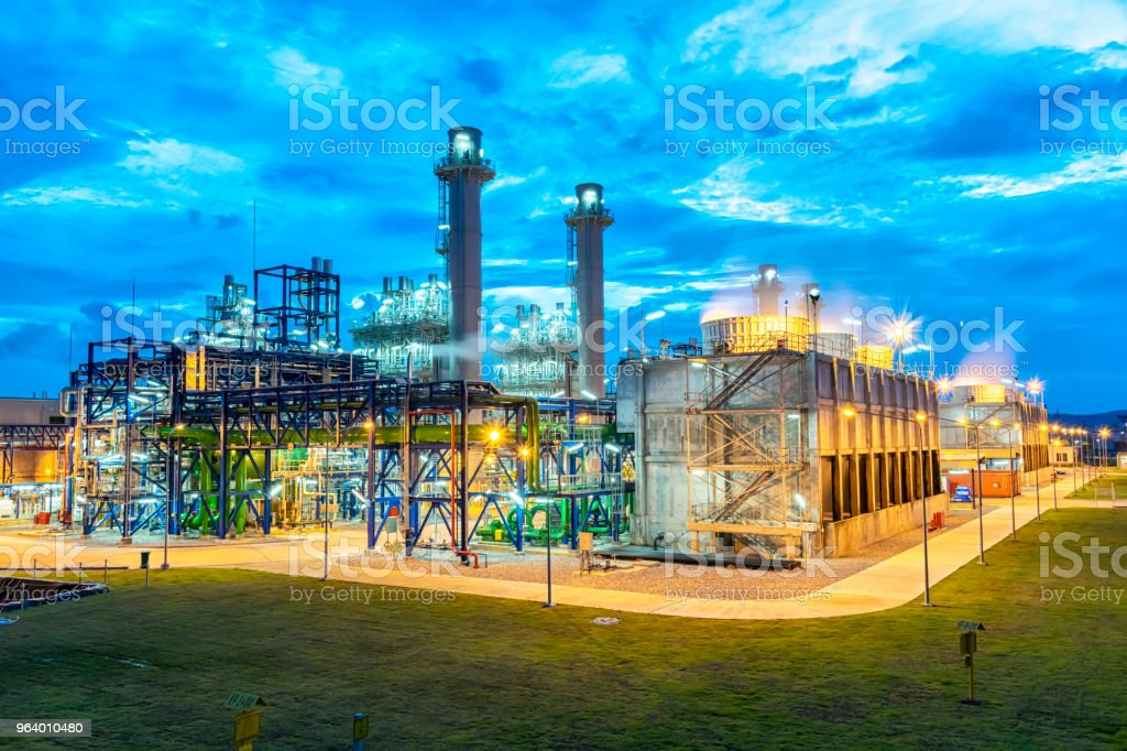 Oil is a major energy - Royalty-free Air Pollution Stock Photo