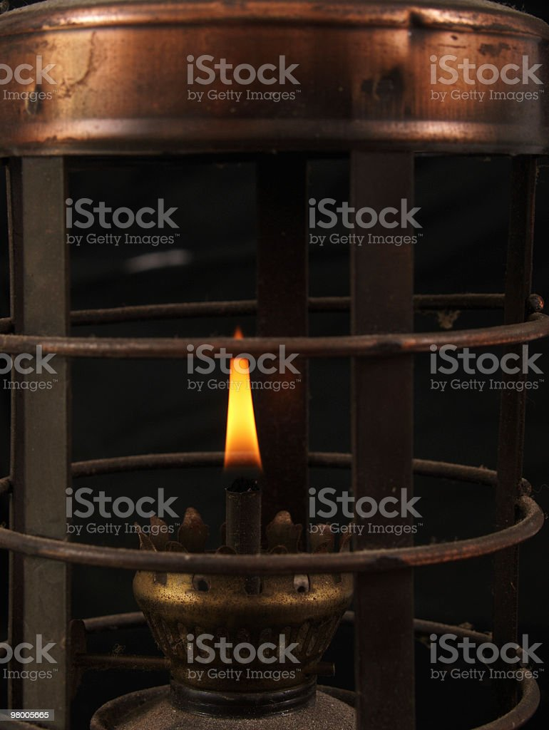 Oil Lantern Close Up royalty-free stock photo