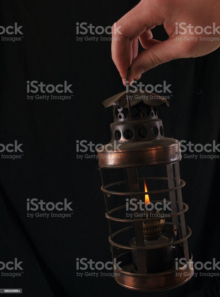 Oil Lantern royalty free stockfoto