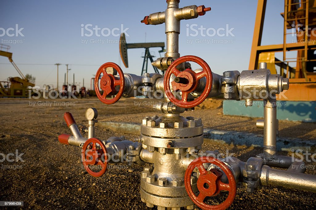 oil latch royalty free stockfoto