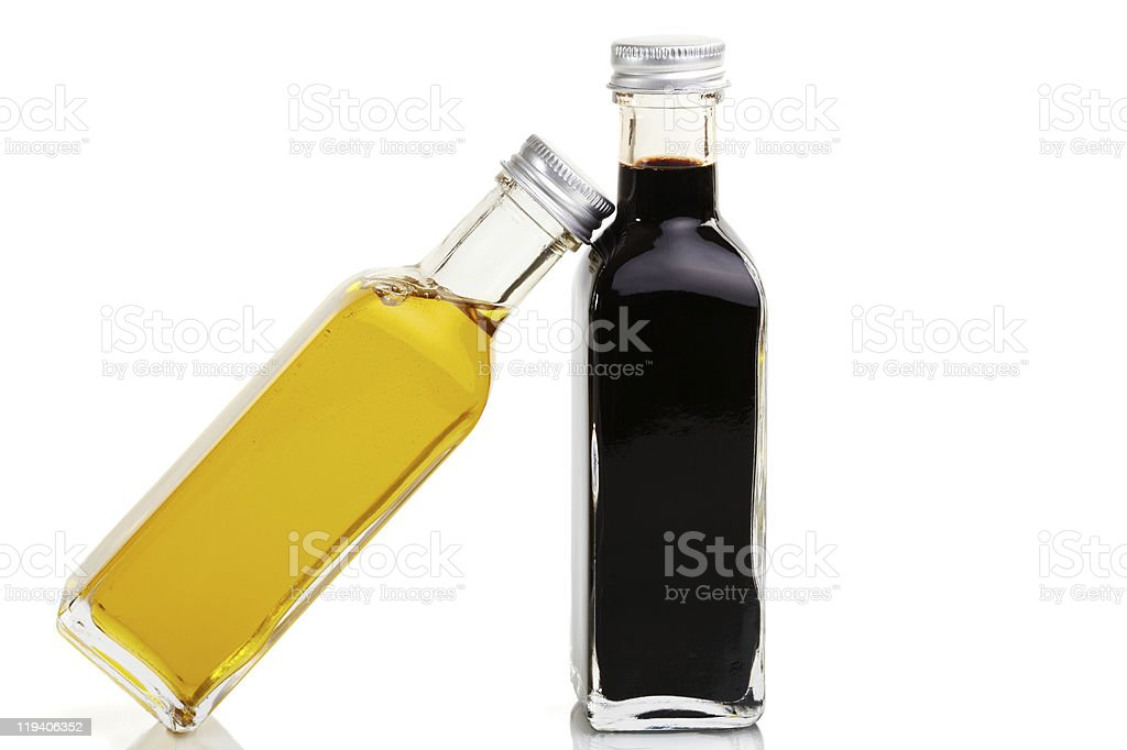 Oil leaning royalty-free stock photo