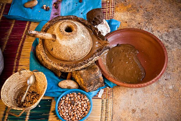 Oil of argan stok fotoğrafı