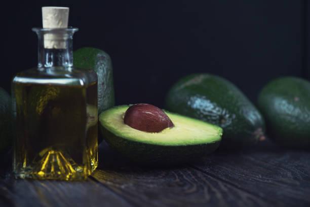 Öl der avocado – Foto