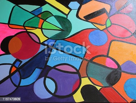 504223972istockphoto BRIGHT Oil paint on Canvas 1157470609