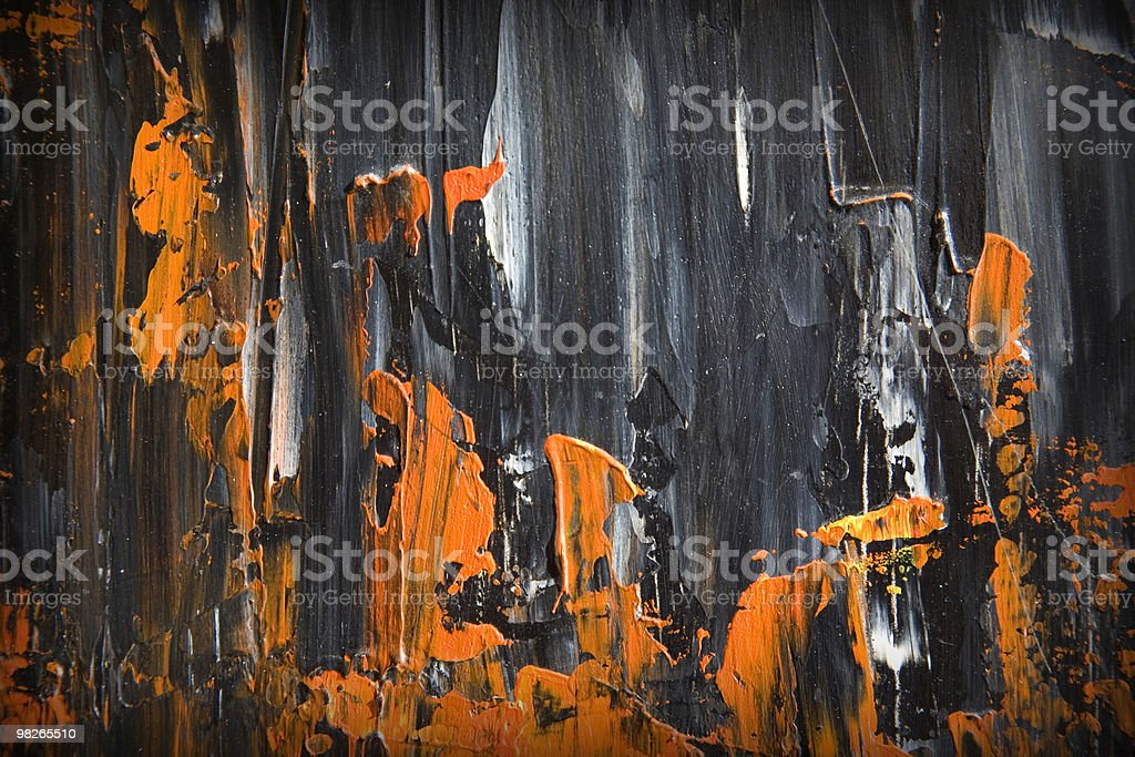 Oil paint structure royalty-free stock photo