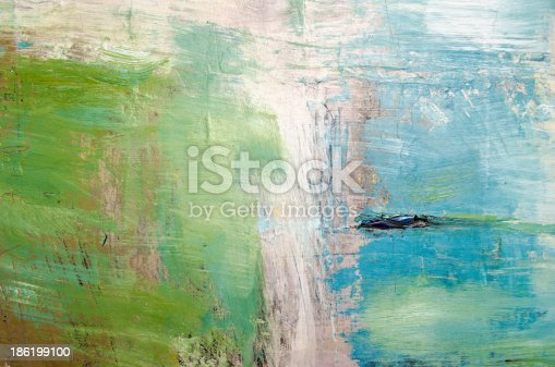 istock Oil painting abstract texture background 186199100
