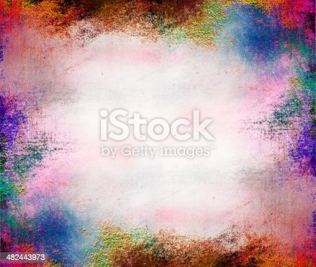istock Oil painting abstract texture background 482443973