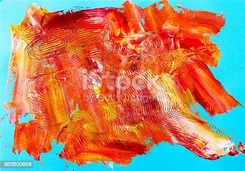 504223972istockphoto Oil paints macro 653800658