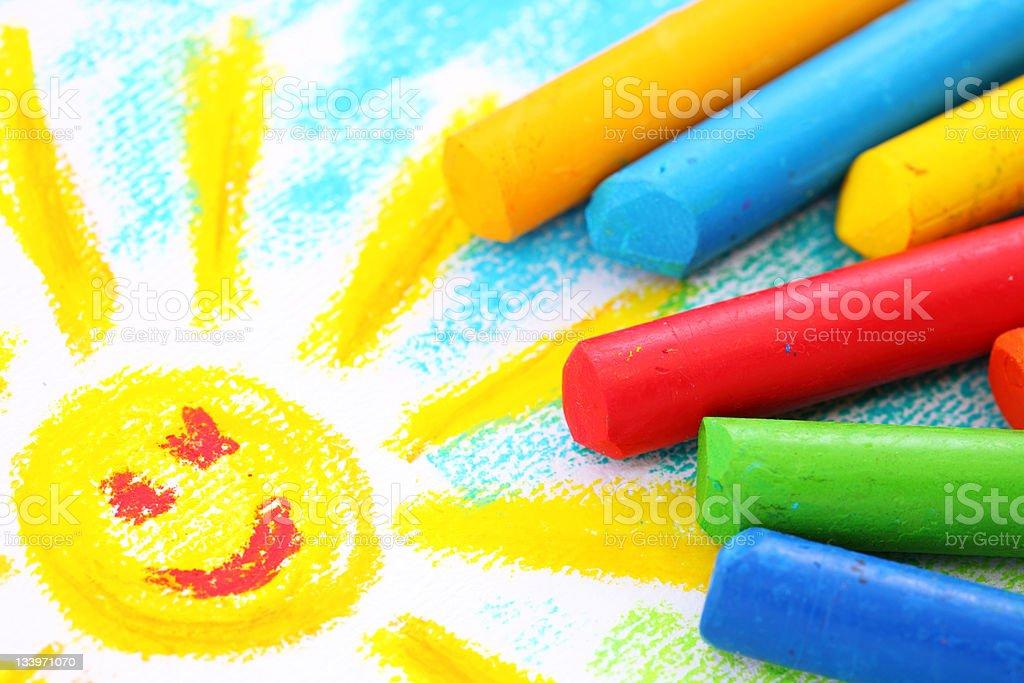 Öl Pastell Buntstifte – Foto