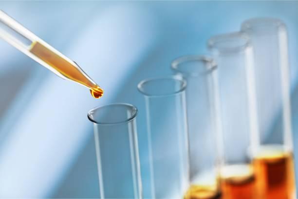 Oil. Oil test analysis beaker bio bio diesel biotechnology biodiesel stock pictures, royalty-free photos & images