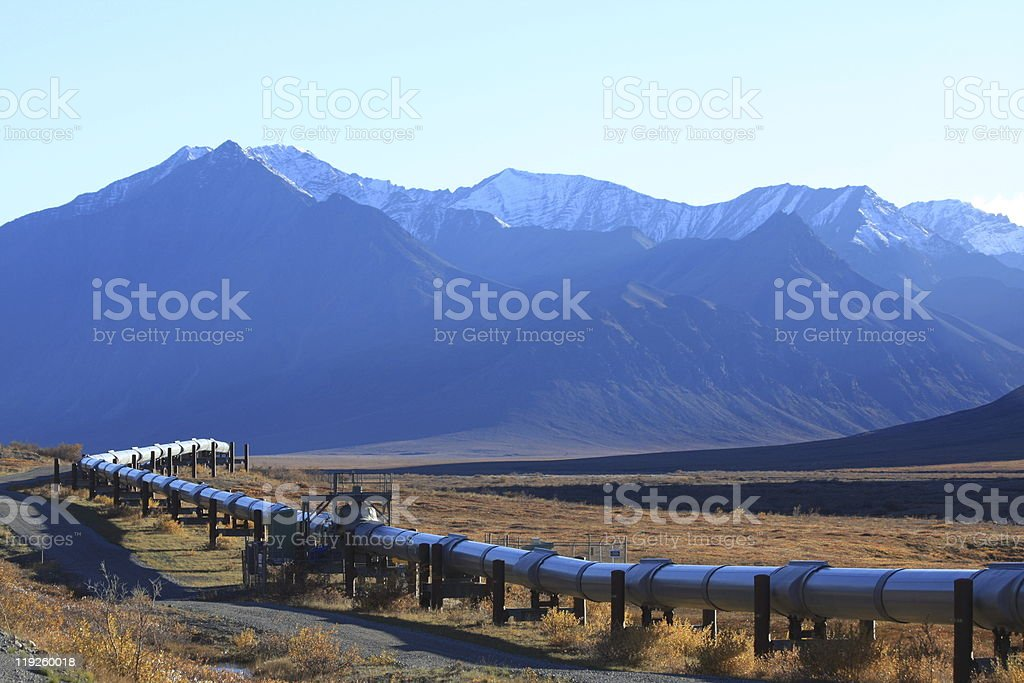 Oil Pipeline 02 royalty-free stock photo