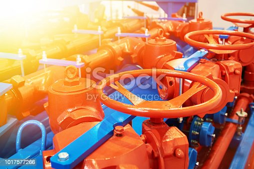 Oil pipeline valves in the oil and gas industry