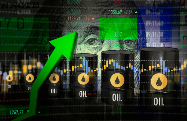 Oil Prices Moving Up Crude Oil, Fossil Fuel, Price, Growth, Graph oil prices up stock pictures, royalty-free photos & images