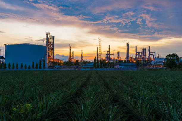 Oil Refinery factory industry