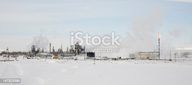 This oil refinery has been modernized in recent years.