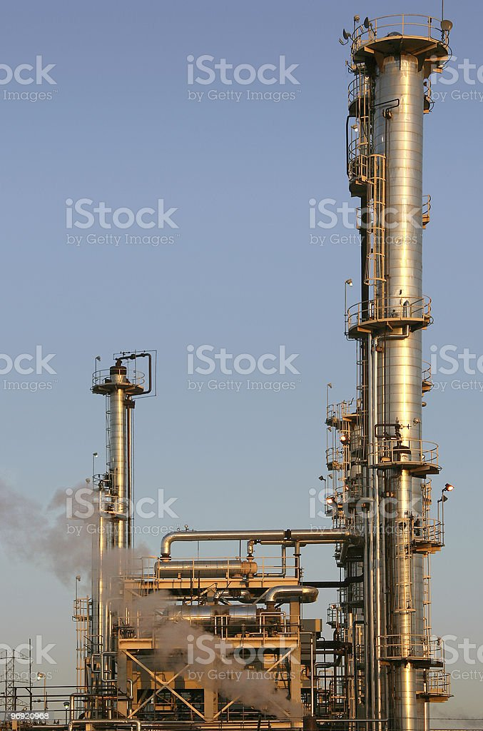 Oil Refinery #2 royalty-free stock photo