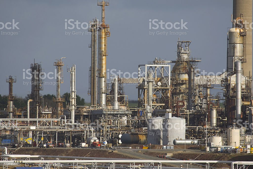 Oil Refinery Series royalty-free stock photo