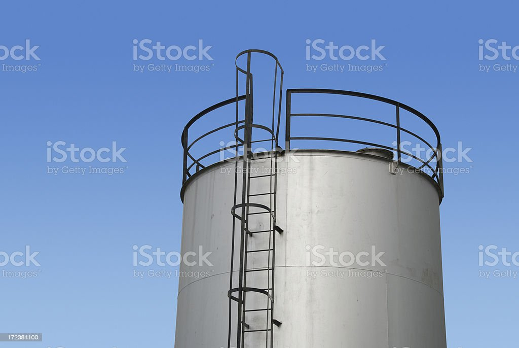 Oil reserve royalty-free stock photo